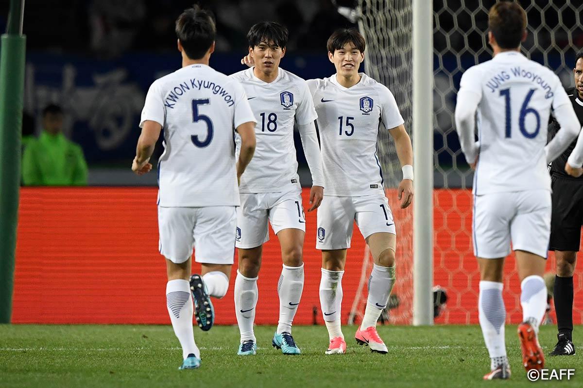 DPR KOREA vs KOREA REP.