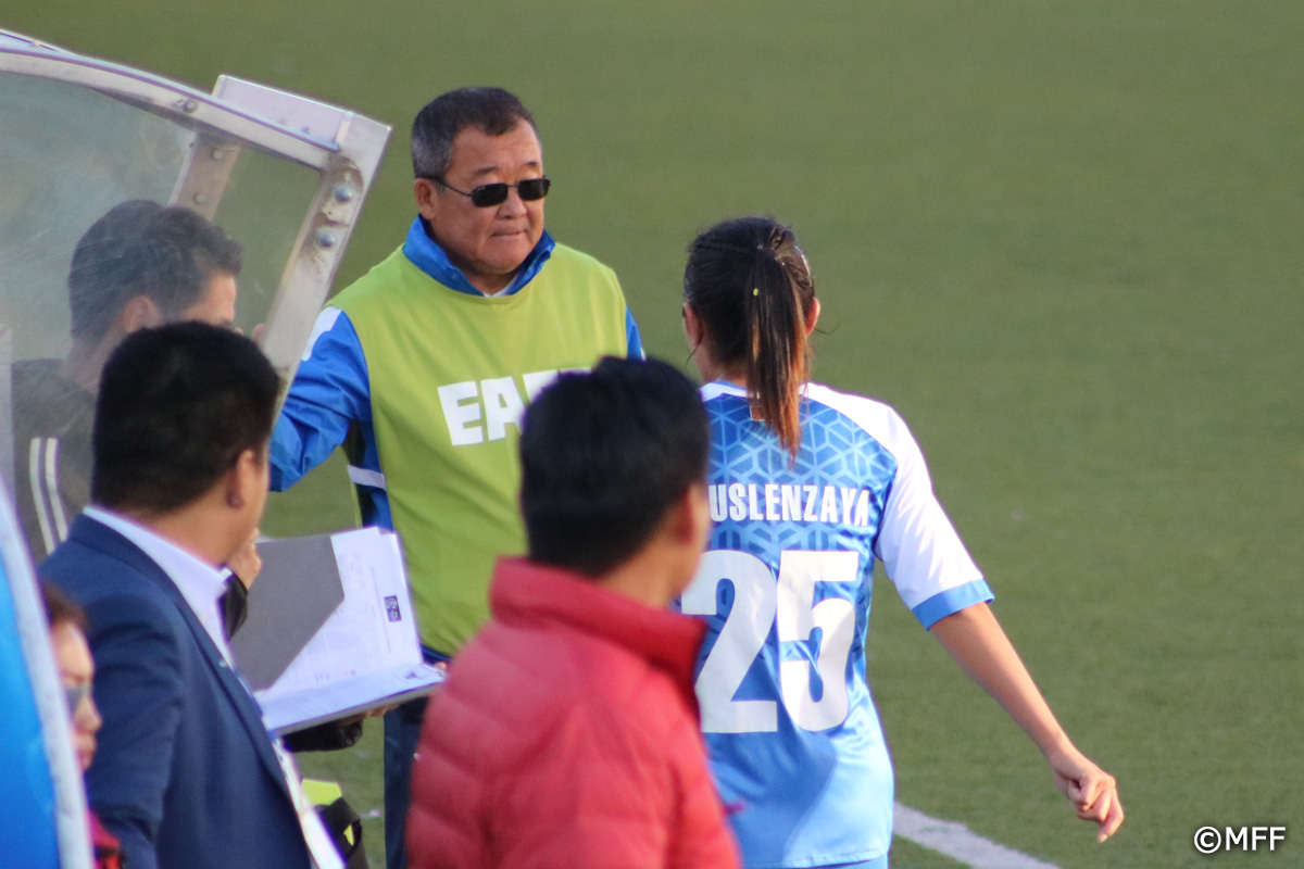 Women's match Mongolia vs Macau
