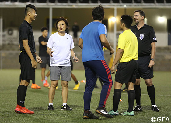 the EAFF Referee Course